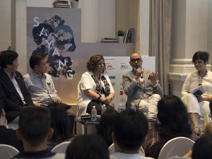 "Singapore Writers Festival - ""Rhyme and Reason"" panel"