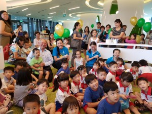 "Organised several times every month, CSCF's ""Sing Chu Chinese Storytelling"" sessions were well received by the children"