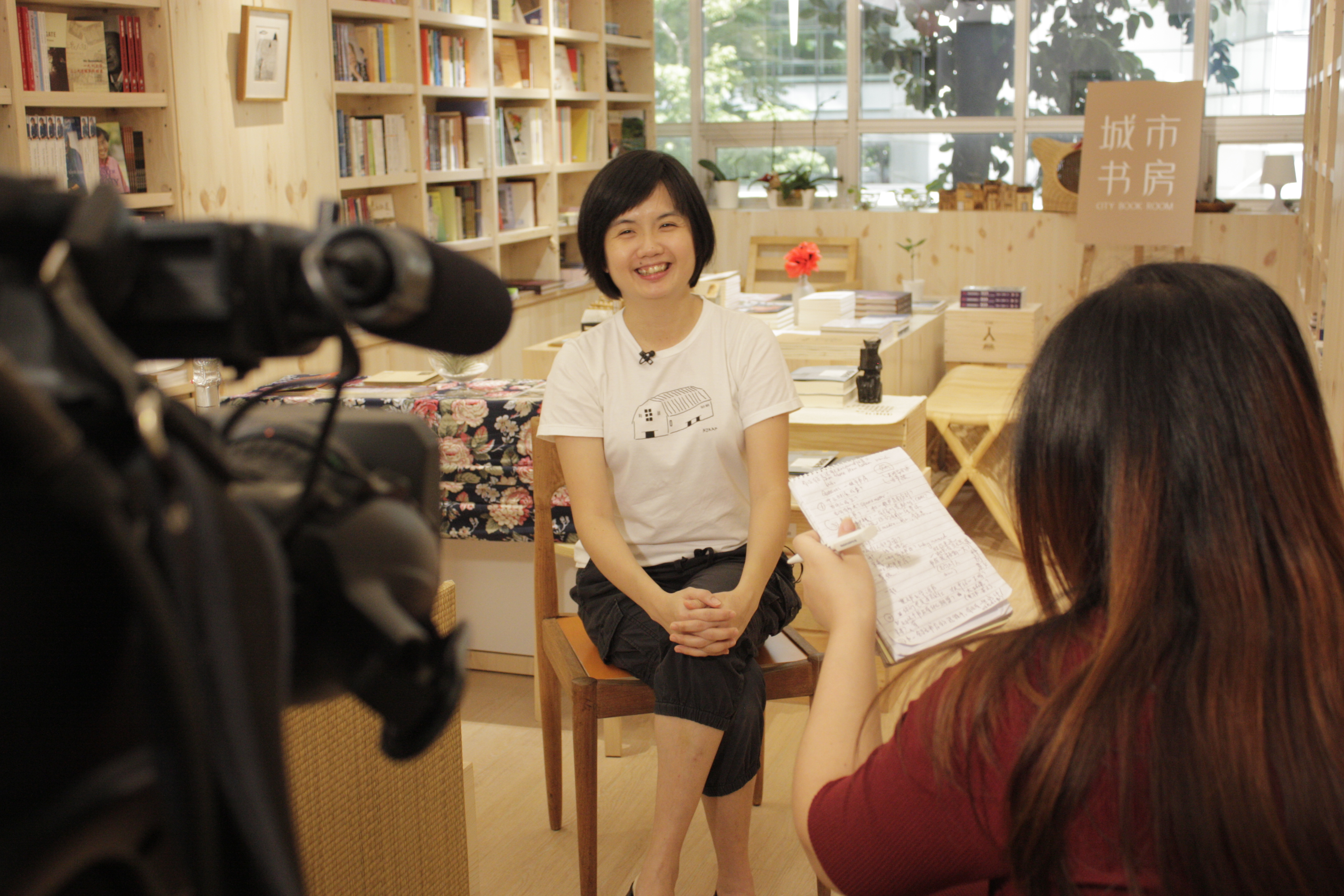 Founder of City Book Room, Tan Waln Ching